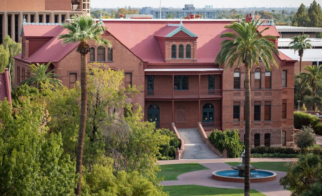 Old main on Tempe Campus